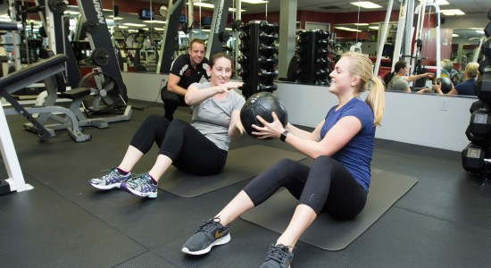 Core Training at The Fitness Studios Annapolis Personal Training