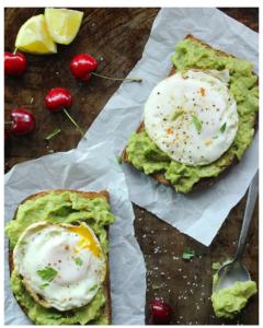 quick and healthy breakfast meals - Avocado Toast with Egg